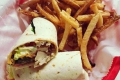Wrap Basket with Fries